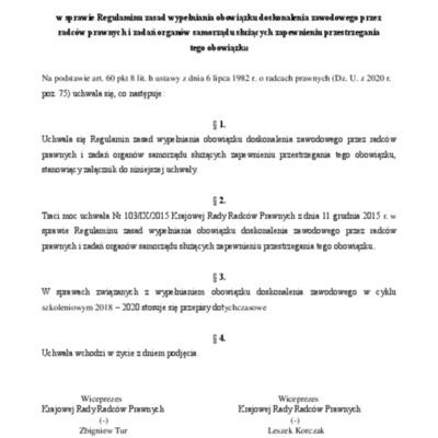 Uchwała KRRP_209_2020_uchwała w sprawie Regulaminu wypełniania obow. dosk. zaw.adj.pdf