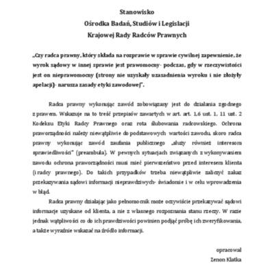Stanowisko-z-dnia-26-marca-2014-r.-złożenie-przez-radcę-prawnego-zapewnienia-o-prawomocności-wyroku.pdf