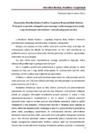Stanowisko OBSIL w sprawie zastępstwa procesowego przez osoby z uprawnieniami radcowskimi lecz niewykonującymi zawodu.pdf